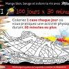 100 jours x 30 minutes d'activité physique