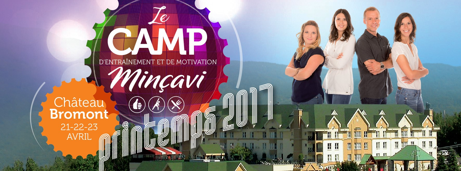 Camp Minçavi 2017