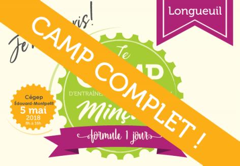 Camp de 1 jour Longueuil 2018