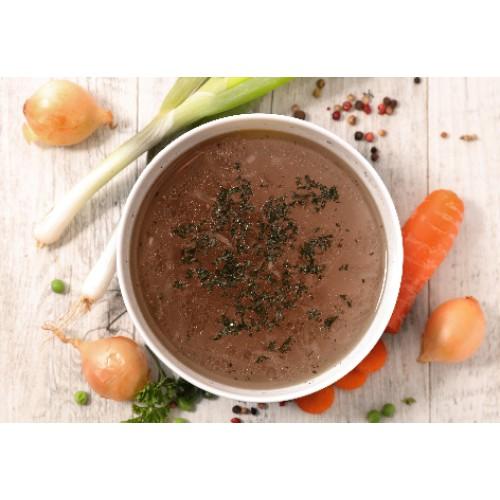 Base de soupe au boeuf
