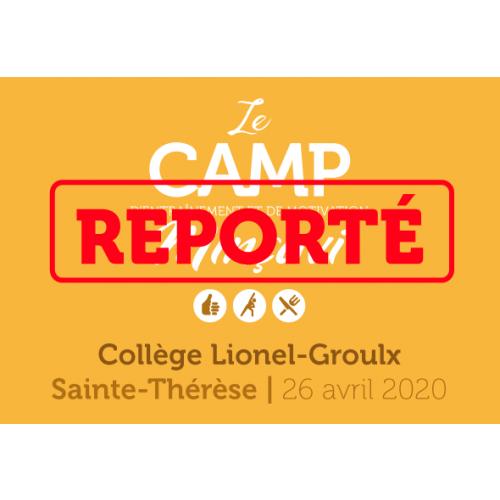 Camp formule 1 jour Sainte-Thérèse 2020