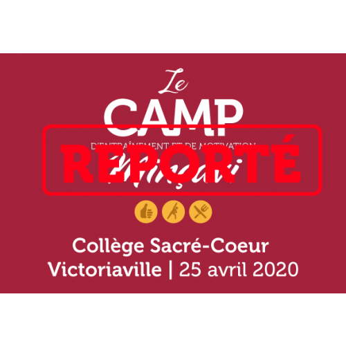 Camp formule 1 jour Victoriaville 2020