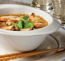 Nouilles thailandaises au poulet rôti