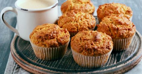 Muffins au beurre d'arachide