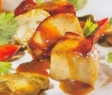 Ragoût de dindon à la chinoise en cocotte