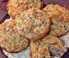 Muffins multigrains aux pommes