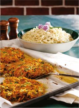 Croquettes de légumes et parmesan