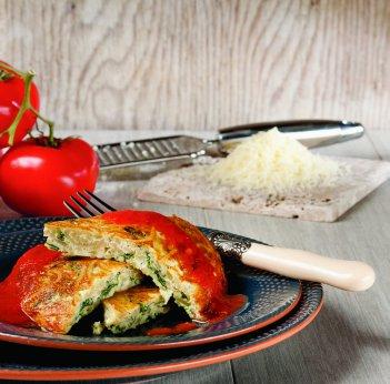 Frittata aux épinards et fromage