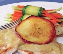 Côtelettes de porc aux pommes
