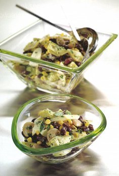 Salade en boîte