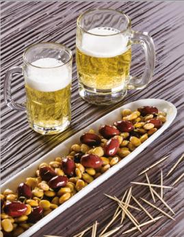 Fèves lupin et olives