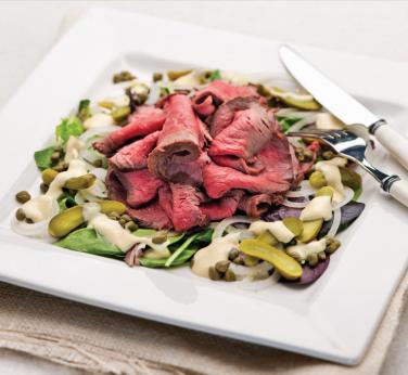 Salade de rosbif