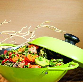 Sauté de légumes à la noix de coco