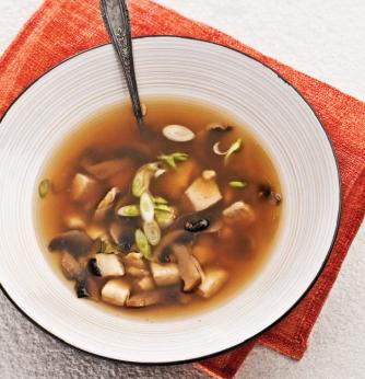 Soupe-repas thaï au poisson