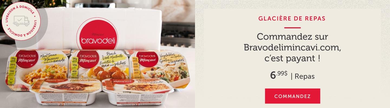 Commandez votre glacière de repas sur Bravodelimincavi.com, c'est payant !